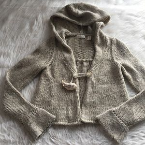 Anthropologie Sleeping On Snow sweater cardigan xs